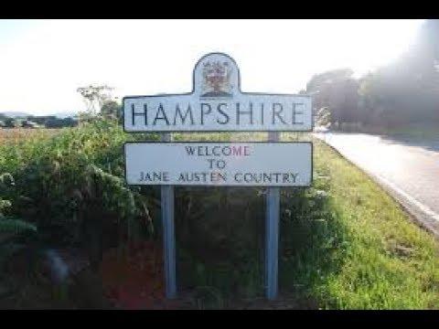 Driving through Hampshire