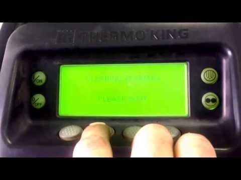 Thermo king SB210 alarm Delite