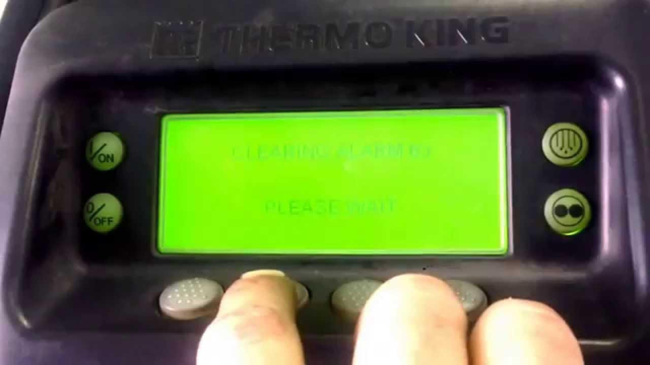 Thermo king SB210 alarm Delite - YouTube