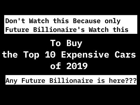 top-10-expensive-cars-2019-|-download-link-in-description-|-youngstein-magazine