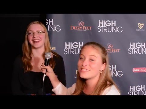 Sarah Hamilton Interview at High Strung LA Premiere