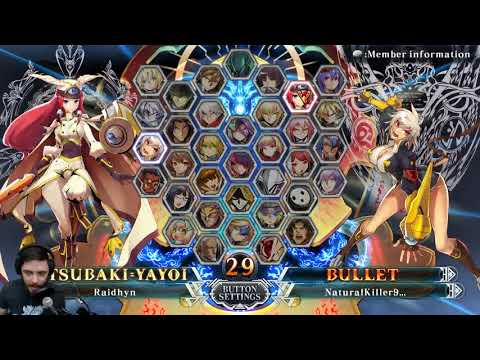 Tsubaki vs. Bullet in 2018 - Blazblue Central Fiction