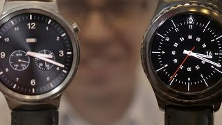 Samsung Gear S2 Classic vs Huawei Watch