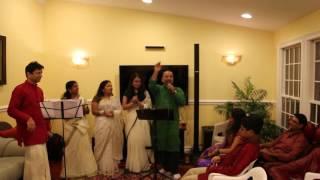 Mere angane me tumhara kya kaam hai by Manoj , Siji & Anju
