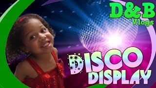 D&B vlogs: Mini Combinations Disco Display!