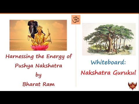 Whiteboard: Harnessing the Energy of Pushya by Bharat Ram