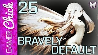 ❤ Bravely Default - Walkthrough [Part 25 Sub Quest 5: Boss Fight: Fiore DeRosa] (3DS) w/ GamerChick