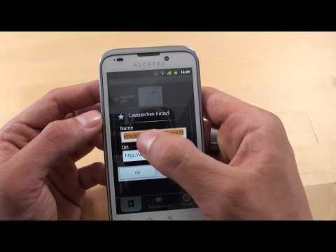 Alcatel onetouch 995 - Internet - Teil 3