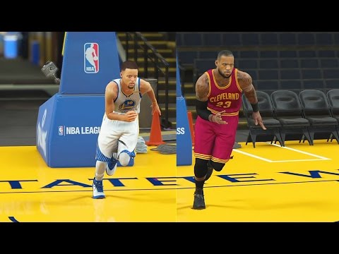 Who is the Fastest Player in the NBA? Stephen Curry vs LeBron James vs Kevin Durant! NBA 2K18