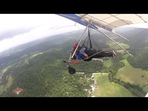 Laura Smith's Hang Gliding Tandem at Lookout Mountain