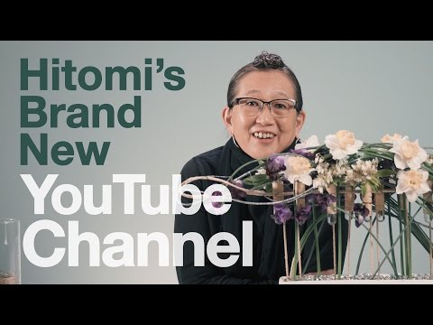HITOMI HAS A NEW YOUTUBE CHANNEL!!