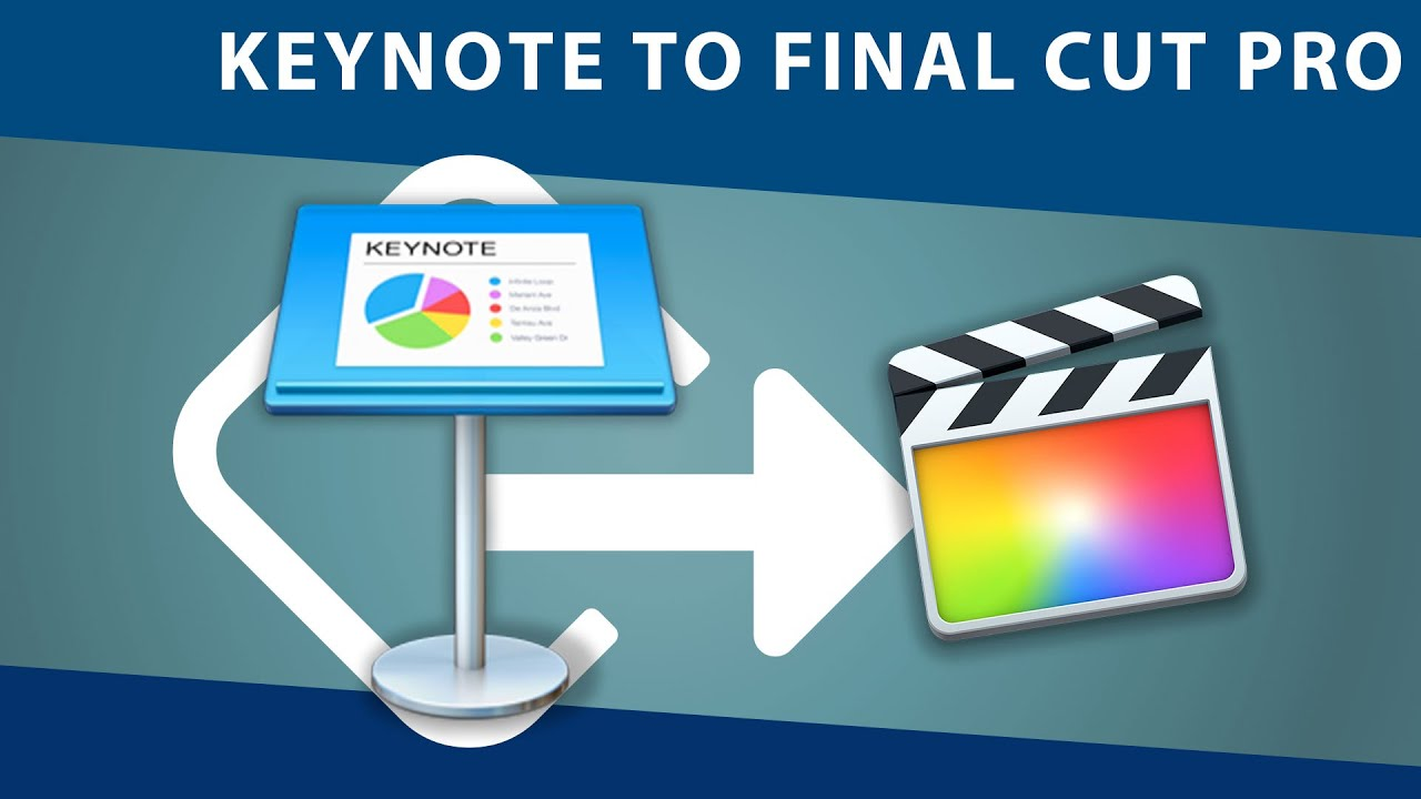 Final Cut Pro X Tutorial: Keynote Presentation into FCPX or iMovie ...