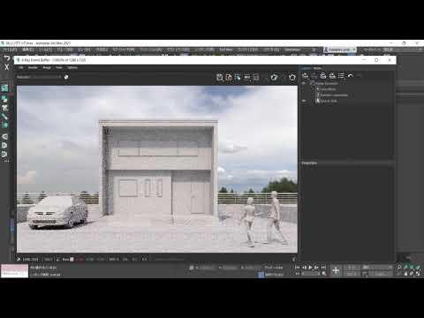 3ds Max × ビジュアライゼーション 第7回:レンダリング設定の概要やUI