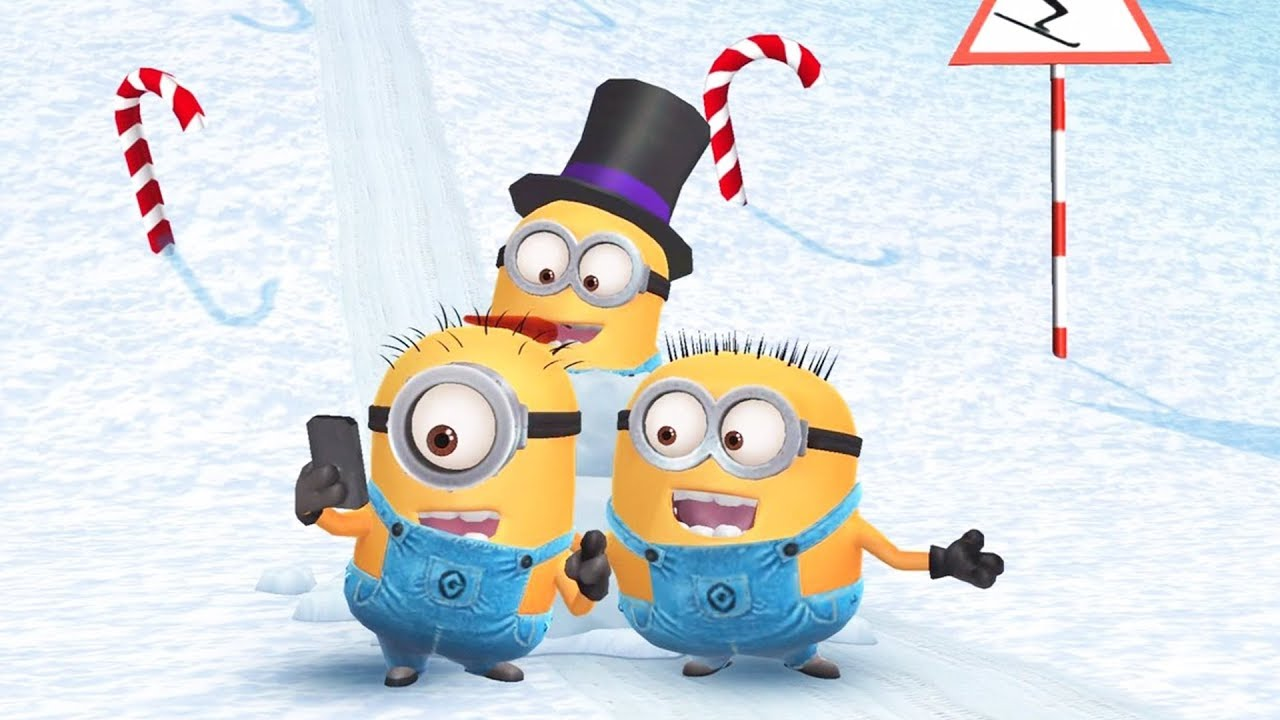despicable me minion rush christmas 2017 cutscene - Minion Rush Christmas