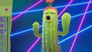 РАСТЕНИЯ ПРОТИВ ЗОМБИ: САДОВАЯ ВОЙНА 3 - Cactus - КАКТУС КАК КАКТУС, СНАЙПЕР ЗА РАСТЕНИЯ
