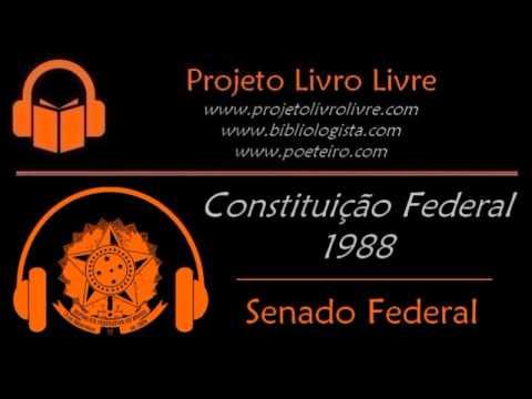 Audiolivro: Constituição Federal (Completa)