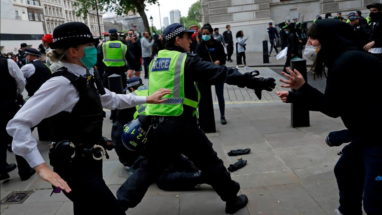 UK Black Lives Matter protestors ignore public health threat posed by rallies