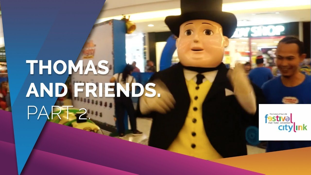 THOMAS AND FRIENDS FESTIVAL CITYLINK BANDUNG, MINI & MIGHTY, HOLIDAY ADVENTURE 2017