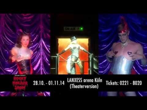 Rocky Horror Show vom 28.10. bis 1.11.2014 in der LANXESS arena