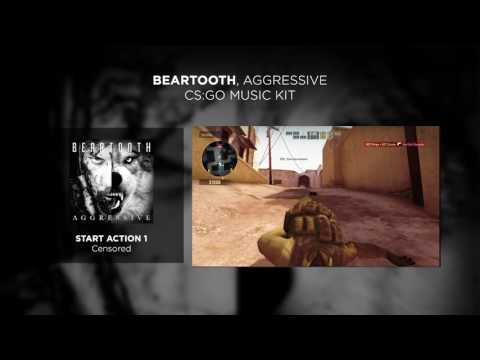 Beartooth, Aggressive - Counter-Strike: Global Offensive (CS:GO) Music Kit | Red Bull Records