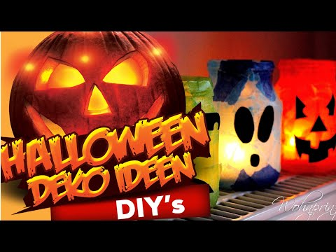 halloween deko tipp zum selbermachen youtube. Black Bedroom Furniture Sets. Home Design Ideas