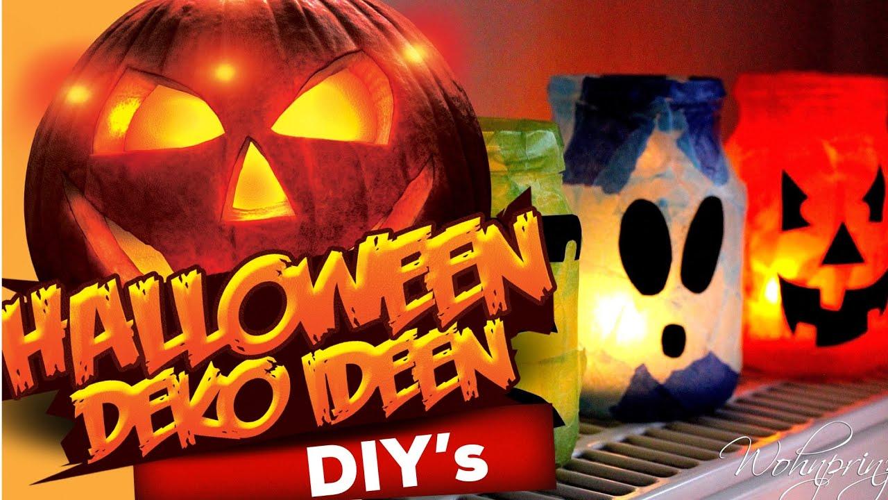 halloween deko tipp zum selbermachen! - youtube