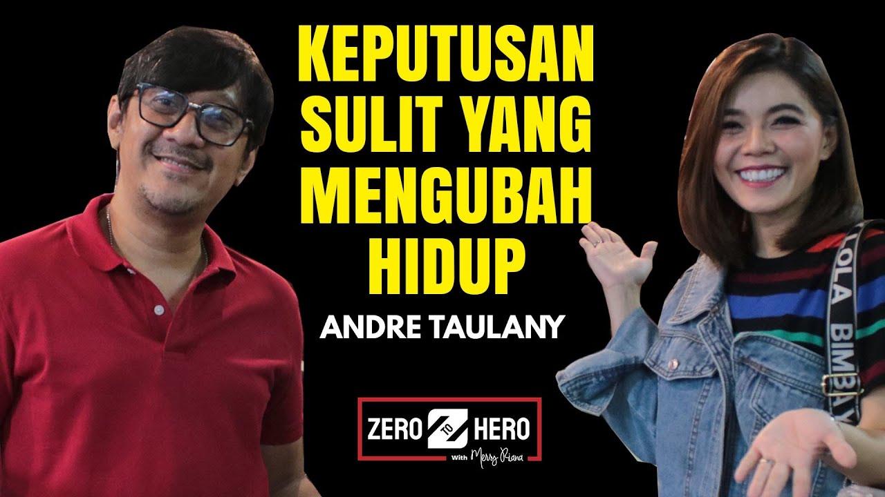 MUKA TEBAL ANDRE TAULANY BELAJAR KOMEDI SAMPAI KARIR MEROKET | Zero To Hero | Merry Riana