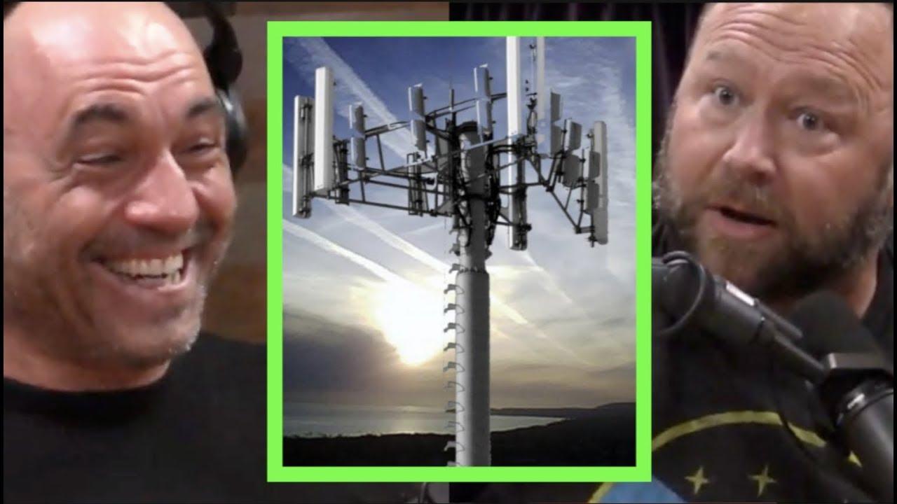 Alex Jones - Zelltürme werden zur Gedankenkontrolle eingesetzt !! | Joe Rogan + video
