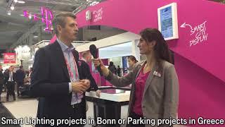 Benefits of Smart Cities - Deutsche Telekom at SCEWC 2018