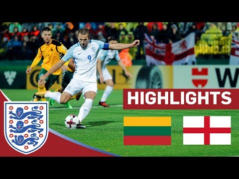 England Maintain Unbeaten Record with a WIN in Lithuania | Lithuania 0-1 England | Highlights