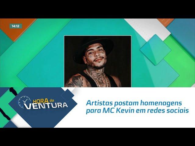 Artistas postam homenagens para MC Kevin em redes sociais