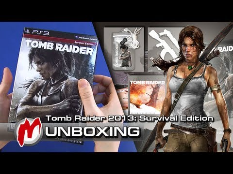 ❐ Tomb Raider (2013) — Распаковка: Survival Edition + коды