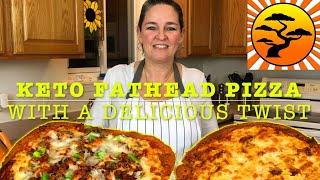 DIY KETO FAT HEAD PIZZA RECIPE | 2 DELICIOUS TWISTS | IMPROVEMENTS FATHEAD