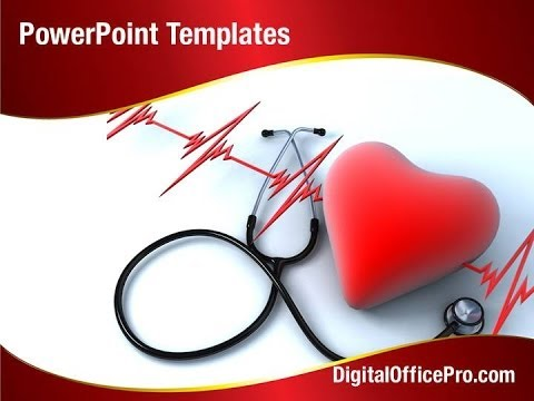 heart health powerpoint template backgrounds - digitalofficepro, Powerpoint templates