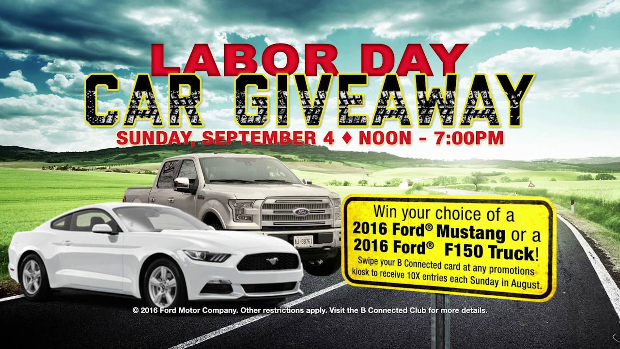 Labor Day Truck Giveaway