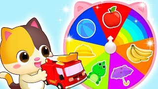 Download Colors on Magic Wheel | Colors Song | Police Cartoon | Kids Songs | Kids Cartoon | BabyBus Mp3 and Videos