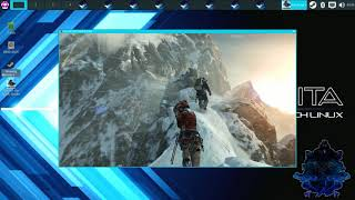 Jailbroken PS4 5.05 Playing PC Game Rise of the Tomb Raider With Linux OS