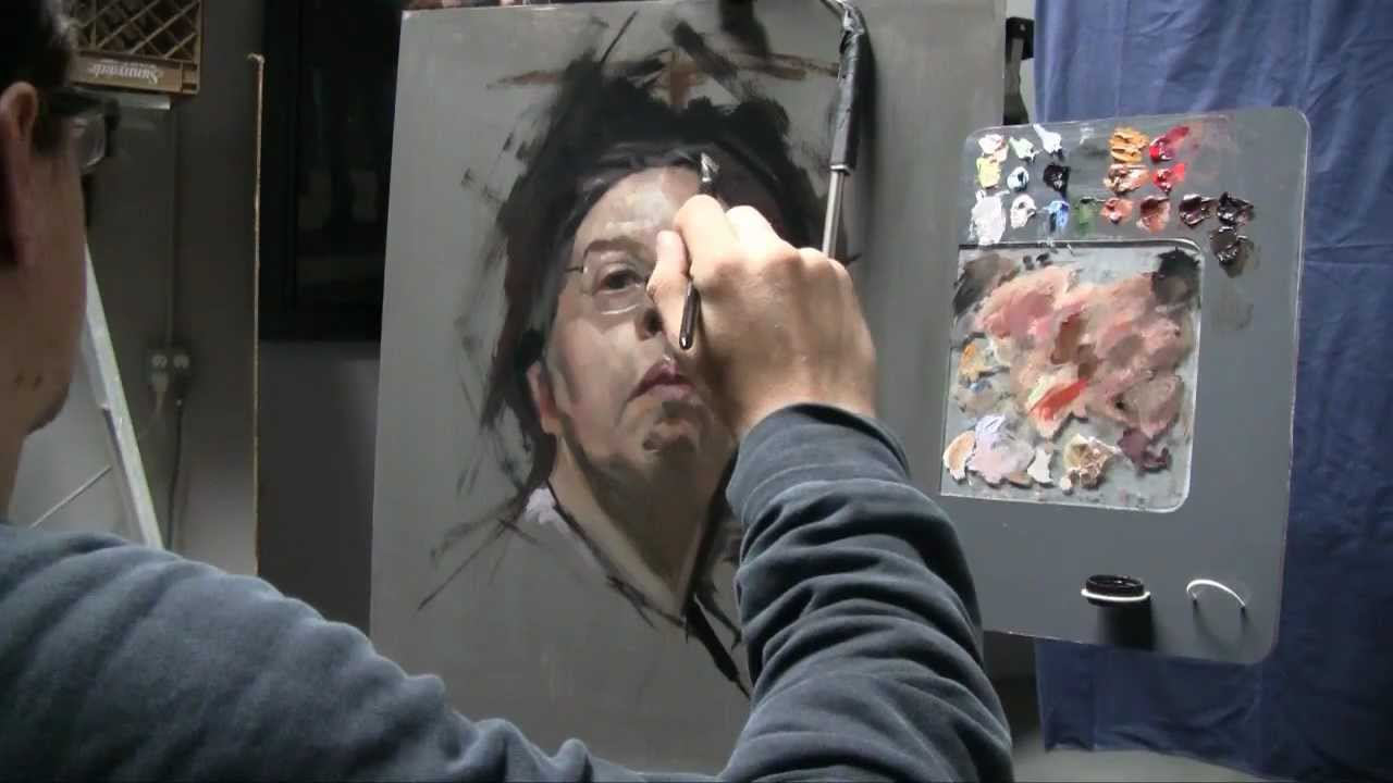 Famoso 2.5 hour Alla Prima painting - David Jon Kassan - YouTube EO71