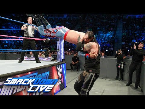 Sin Cara vs. Baron Corbin: SmackDown LIVE, Oct. 17, 2017