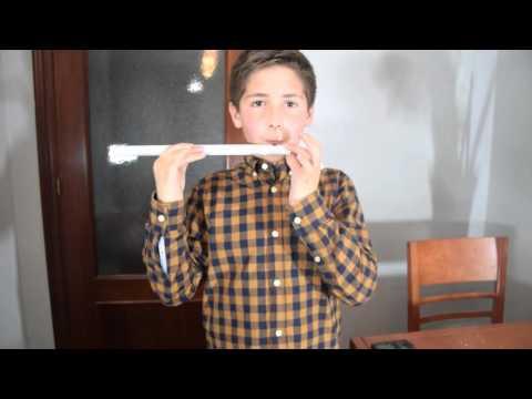 Cómo hacer una flauta travesera con un tubo de PVC