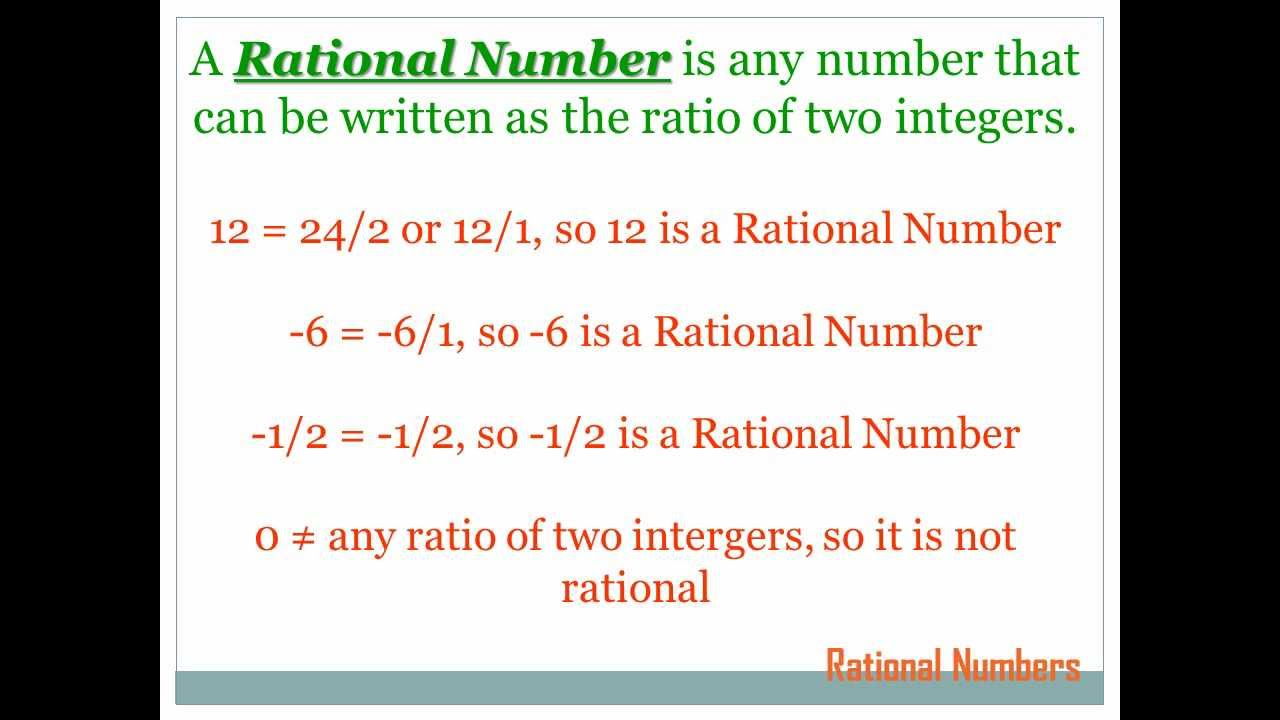 rational numbers 7th grade math youtube. Black Bedroom Furniture Sets. Home Design Ideas