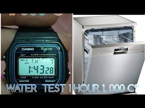 CASİO F -91 W WATER TEST 1. 000 C°