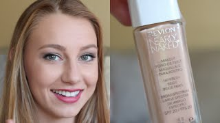 Revlon Nearly Naked Foundation | First Impression + Demo Thumbnail