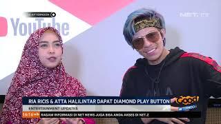 Download Video Ria Ricis & Atta Halilintar Dapat Diamond Play Button Youtube MP3 3GP MP4