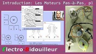 EB_#184 Introduction au moteurs Pas-à-Pas, Partie 1: Théorie et Interface
