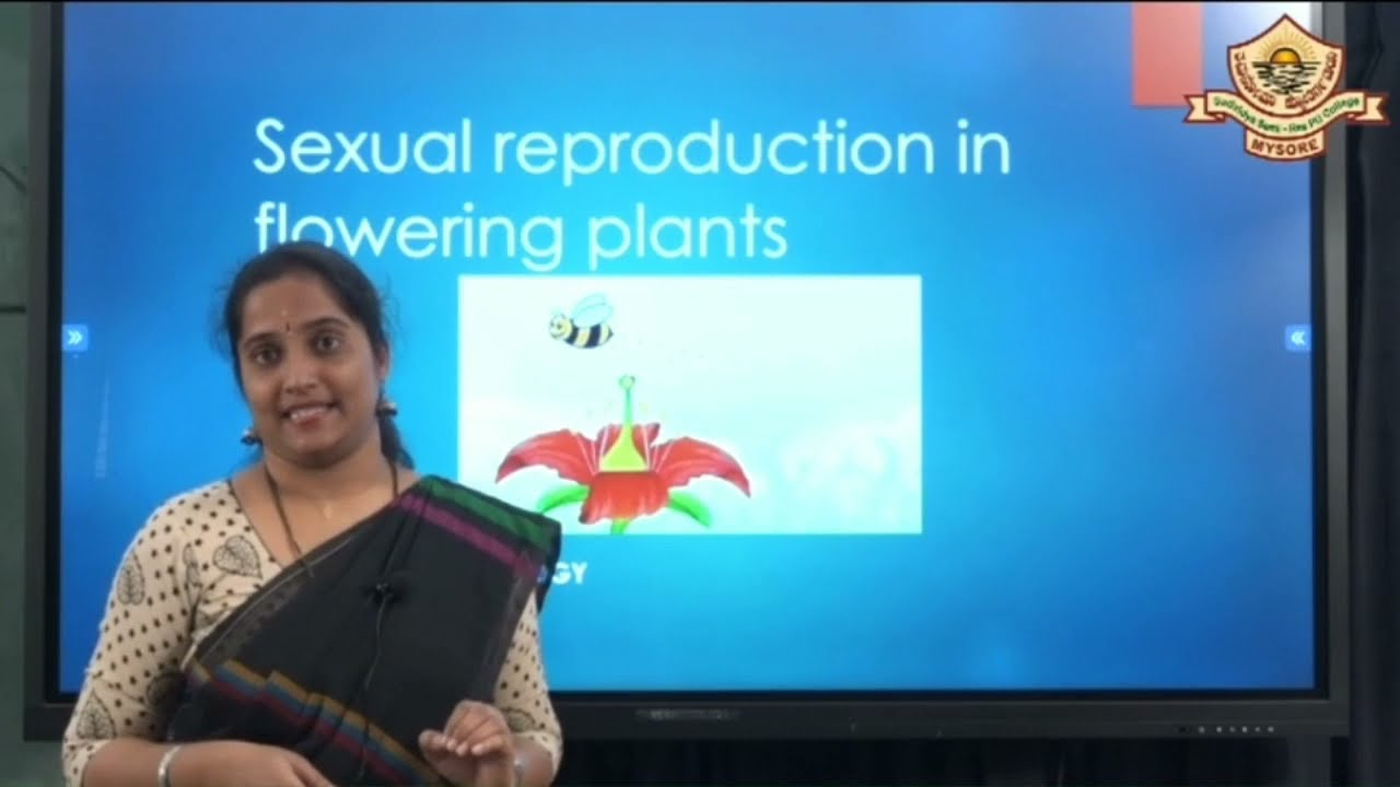 II PUC | BIOLOGY | SEXUAL REPRODUCTION IN FLOWERING PLANTS -  06