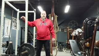 The Bent Barbell Row