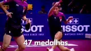 China uma potência no Tênis de Mesa