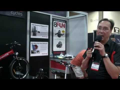 Energie Cycles 2.6tm and 2.6t Electric Bikes at Interbike 2013   Electric Bike Report
