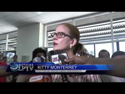 Kitty Monterrey presenta recurso de amparo en contra del representate legal de la Asamblea Nacional